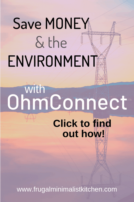 Save money and environment with Ohm Connect