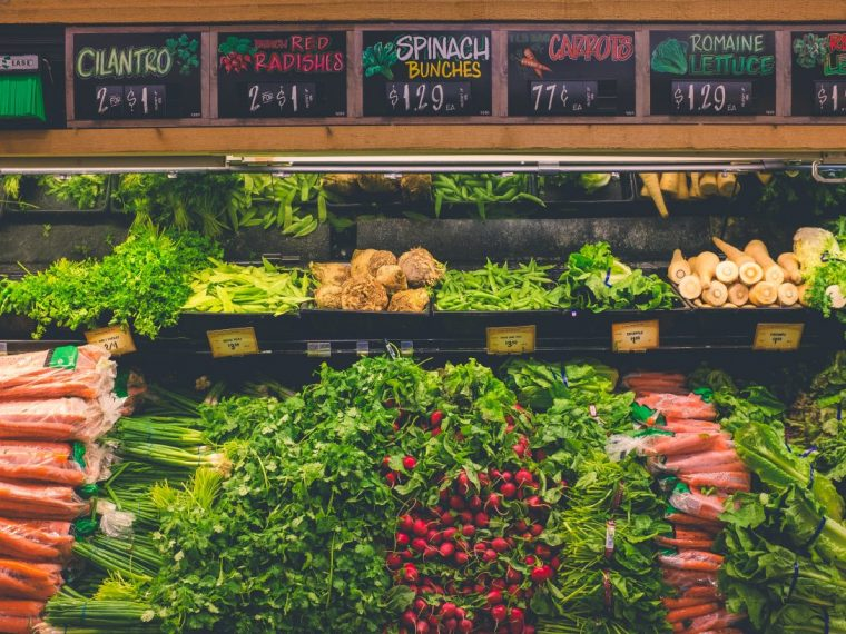 Buy produce in season to spend less on groceries