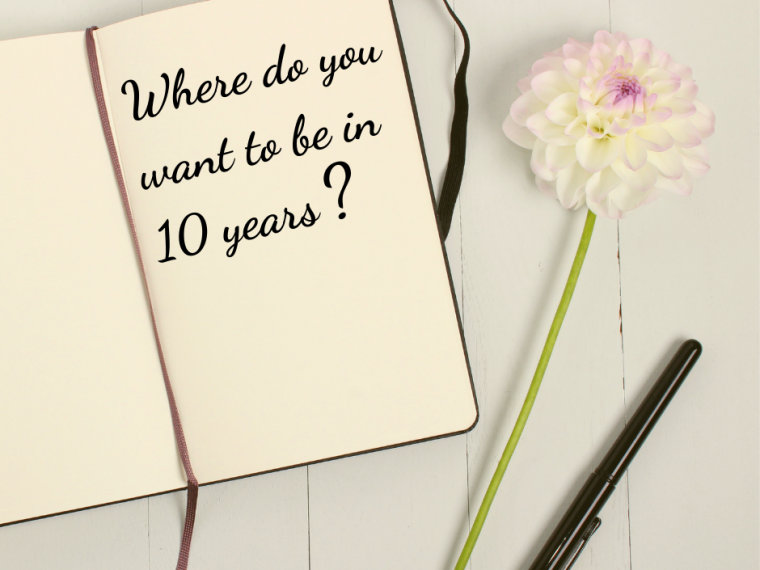 No Spend Month Reflection: where do you want to be in 10 years?