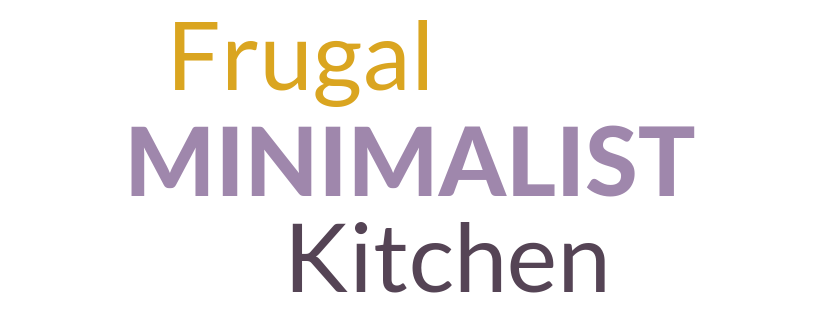 Frugal minimalist kitchen logo