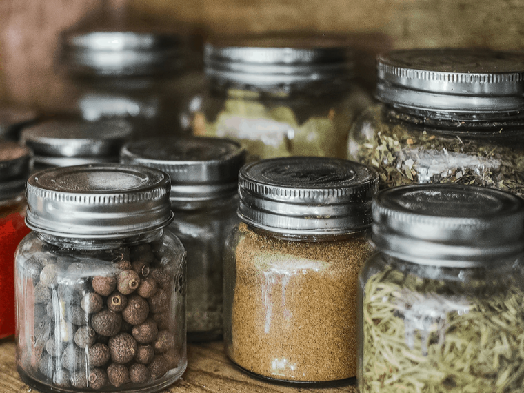 Pantry staples spices