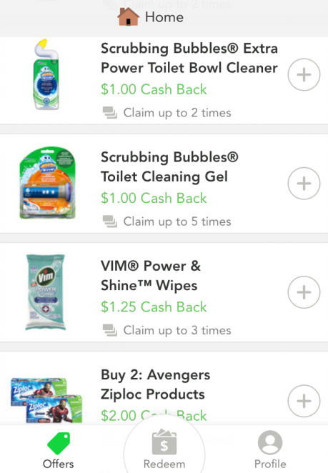 Checkout 51 cleaning supplies
