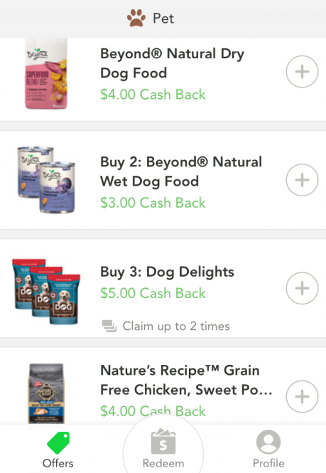 Checkout51 pet food offers
