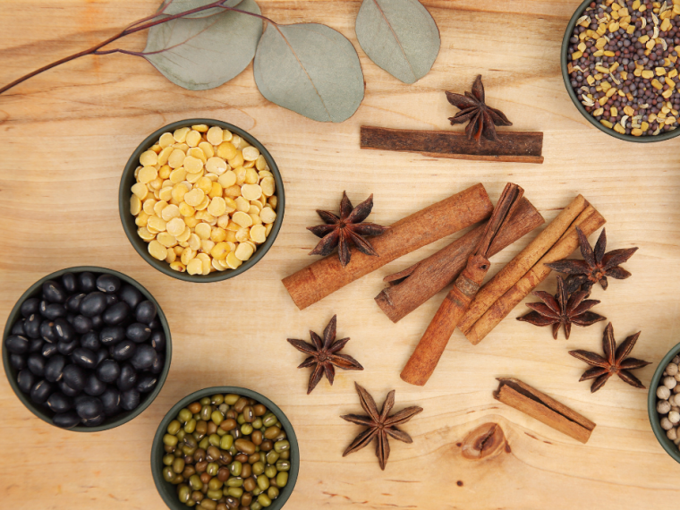 how to stock a pantry for the first time with spices and dried goods