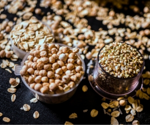 oats, chickpeas help build a pantry on a budget