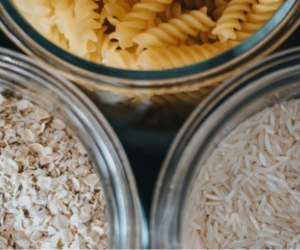 pasta, rice, oats help build a pantry on a budget