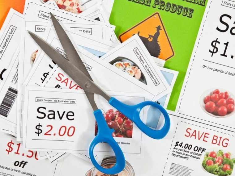 coupons and scissors. is couponing really worth it?