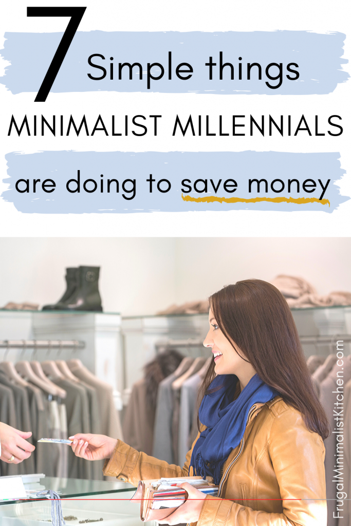 save more money as a millennial