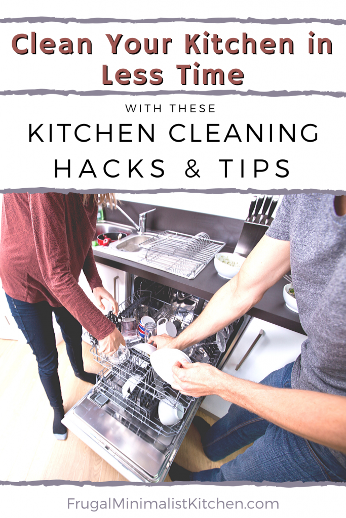 clean kitchen in less time