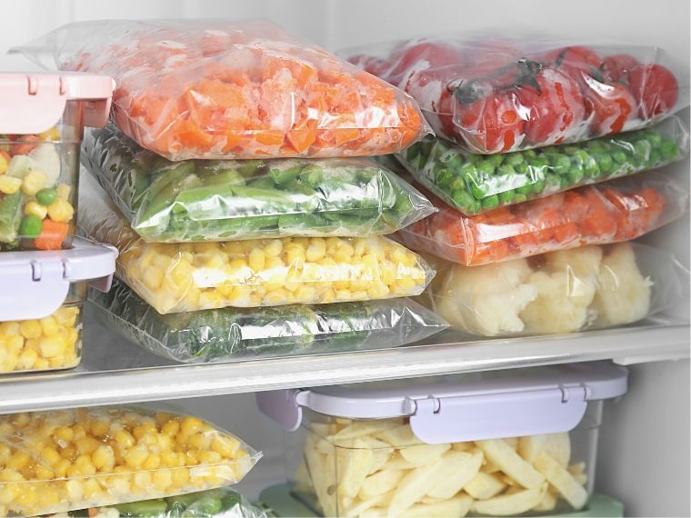 Freezer Organization Ideas