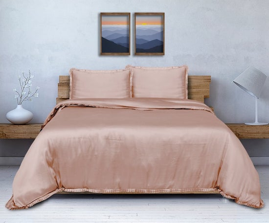 bamboo silk bedding gift for minimalists