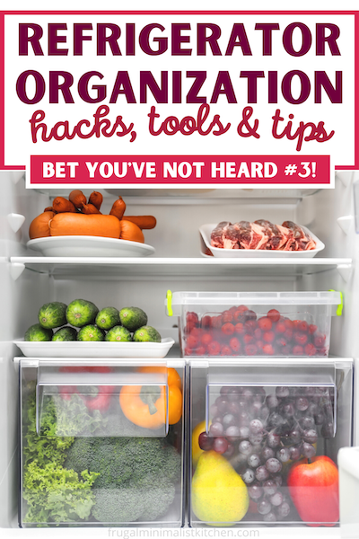 refrigerator organization hacks tools and tips bet you've not heard #3!