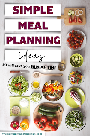 simple meal planning ideas